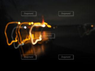 橋,夜景,沖縄,光,ライトアップ,玉ボケ,海中道路,光線,ブレ