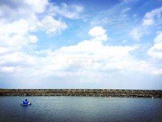 海を貸切りの写真・画像素材[1402927]