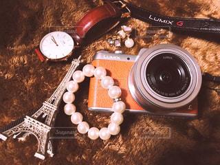 カメラ,時計,レトロ,ブレスレット,旅行,フランス,パリ,エッフェル塔,パール