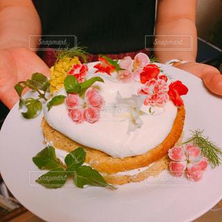 食べれるお花の写真・画像素材[2147153]