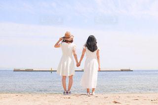 親友と夏の写真・画像素材[2164886]