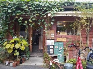 秘密のカフェの写真・画像素材[2251785]