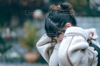もふもふ冬の写真・画像素材[2904118]