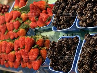 フルーツ,果物,果実,イチゴ,ブラックベリー