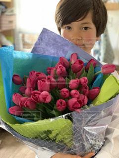 ありがとうの花束の写真・画像素材[1986239]