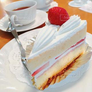 スイーツ,カフェ,ケーキ,おやつ,幸せ,美味しい,ショートケーキ,おやつタイム