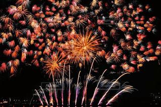 空に花火の写真・画像素材[1310303]