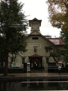 雨,時計,北海道,旅行,札幌,時計塔