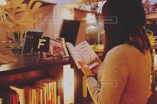 本を読む女性 - No.737173