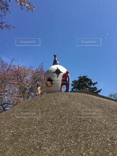 公園,桜,子供,女の子,桜吹雪,ロケ地,大和市,ピエロ公園