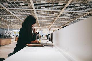 カフェの写真・画像素材[421722]