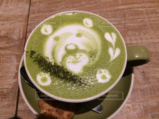 ハート,ハートマーク,お茶,グリーン,熊,グリーンティ