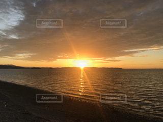 自然,風景,海,空,屋外,湖,太陽,ビーチ,雲,砂浜,夕暮れ,水面,海岸,光
