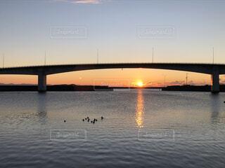 空,屋外,太陽,朝日,水面,正月,お正月,日の出,新年,初日の出