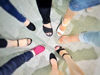 足の写真・画像素材[552153]