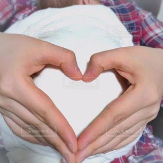 家族,親子,手,ハート,赤ちゃん,抱っこ,お母さん