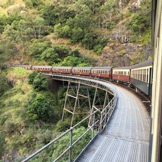 風景,電車,オーストラリア,鉄道,海外旅行,渓谷,ケアンズ,世界の車窓から