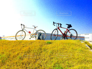 自転車の写真・画像素材[424957]