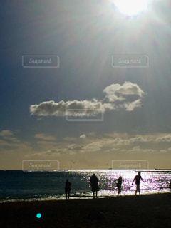 空には雲のグループ - No.1023222
