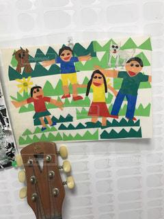 子供の貼り絵の写真・画像素材[807332]