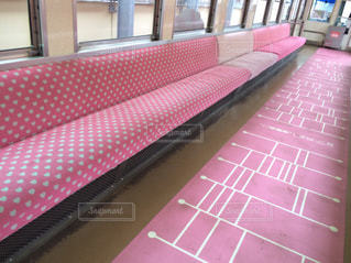 ピンク,かわいい,電車,ハート,旅行,恋,出雲大社,あみだくじ