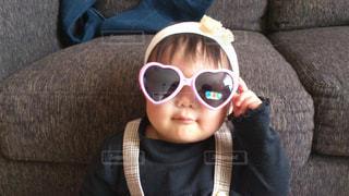 子ども,サングラス,女,女子,女の子,ハート,赤ちゃん,可愛い,ハートのサングラス