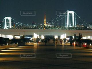 東京タワー,夜景,ライトアップ,お台場,ダイバーシティ,レインボブリッジ