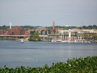 風景,海,街並み,船,港,USA,ワシントンD.C