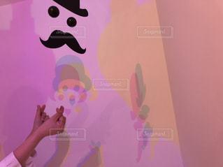 指ハート♡♡♡の写真・画像素材[1119047]
