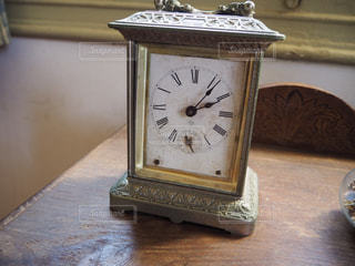 アンティーク,時計,古い,明治村,ゴールド,クラシカル,置き時計,古い時計