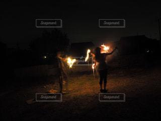 夏,夜,花火,人物,火,ポートレート,夏の夜,手持ち花火,素敵な花火