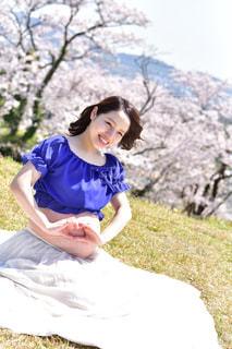 公園,桜,マタニティ,妊婦,一眼レフ,マタニティフォト