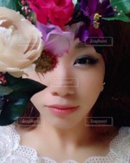 あきなと花💐の写真・画像素材[732107]