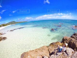 奄美大島の絶景ビーチの写真・画像素材[950229]