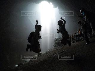 光のカーテンを求めての写真・画像素材[950232]
