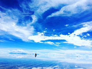 死ぬまでに行きたい世界の絶景☆ウユニ塩湖の写真・画像素材[1121546]