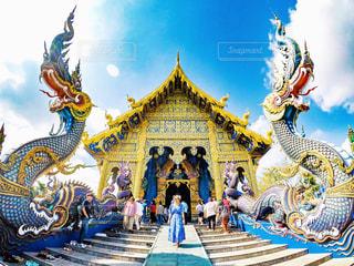 Blue Templeの写真・画像素材[2242972]