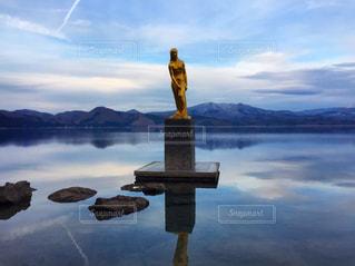 湖,パワースポット,秋田県,田沢湖,たつこ像