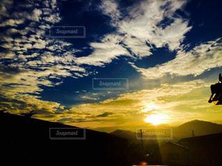 山,夕陽,神奈川,神奈川県,丹沢,わたしの街
