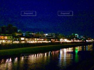夜,夜景,京都,旅行,鴨川