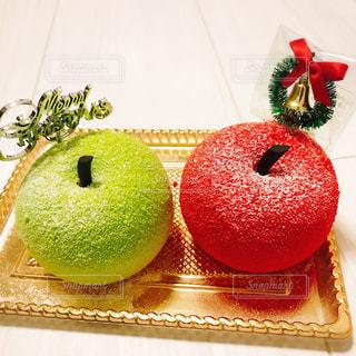 カフェ,冬,赤,クリスマス,りんご,原宿,シャーベット