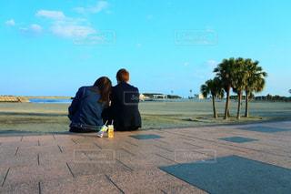 海,カップル,宮崎,わたしの街,日本のハワイ