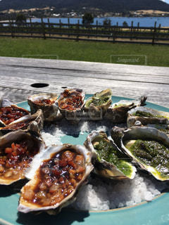 牡蠣の写真・画像素材[489183]