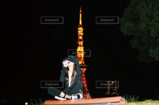 東京タワーの写真・画像素材[525940]