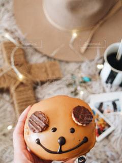 犬のような形をしたケーキの写真・画像素材[999531]