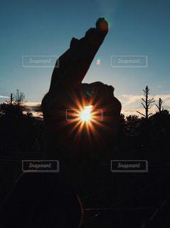 夕日,太陽,木曽三川公園