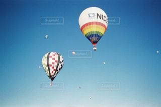 自然,空,晴れ,青空,気球,フィルム,フィルムカメラ,写ルンです,フィルム写真,35mm,フィルムフォト