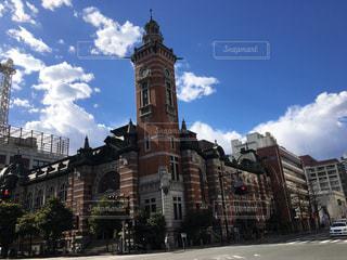 時計,都市,街,横浜,街並,馬車道,時計塔,煉瓦造り,みなとみらい地区