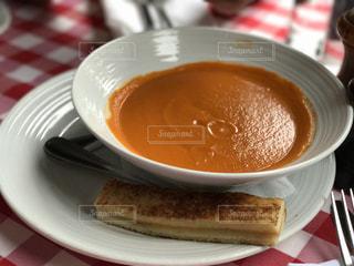 ニューヨーク,アメリカ,P.J. クラークス リンカーン センター,クリーミートマトスープ