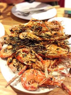 バリ島,インドネシア,クタ,シーフードレストラン,Dewi Sri,エビの素揚げ